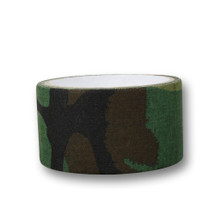 Wosport Fabric Tape 50mm wide in Woodland Dpm