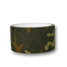 Wosport Fabric Tape 50mm wide in Flecktarn Camo