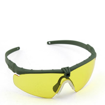 WoSport 2.0 Airsoft Glasses Olive Frame With Yellow Lens