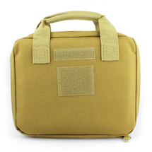Wo Sport Portable Pistol Bag in Desert Tan