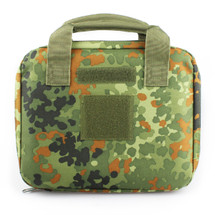 Wo Sport Portable Pistol Bag in Flecktarn Camo