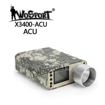 WoSport Pro Chronograph with LCD Display in ACU Camo