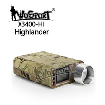 WoSport Pro Chronograph with LCD Display in Highlander Camo