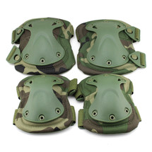 BV Tactical Safety Elbow & Knee Pad Set V3 Woodland Dpm