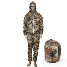 WoSport Ghillie Leaflike Camouflage  in Desert Camo