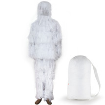 WoSport Ghillie Suit Uniform in Snow Camo