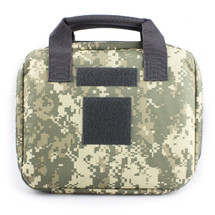 Wo Sport Portable Pistol Bag in ACU Camo