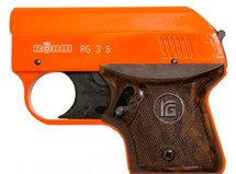 Rhom Blank Firing Starting Pistol in Orange