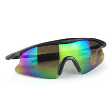 WoSport 7.0 Airsoft Glasses Black Frame With Anti Glare Lens