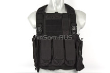 WoSport Commando Chest Rig in Black
