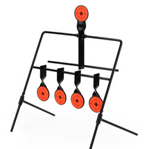 WoSport Swinging Knock Down Target for air rifles 4+1