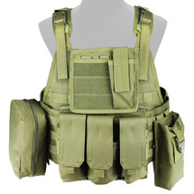 WoSport Commando Tactical Vest in Olive Drab