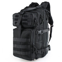 Wosport 3P Tactical Mountaineer Backpack in Black