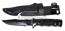 T&D M37 Plastic Training Knife in Black