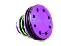Aluminum Cylinder Head Double O-Ring design in Purple