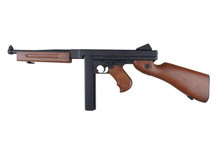 Snow Wolf M1A1 Tommy Gun AEG in Wood Finish (SW-05)