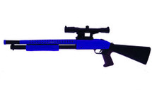 Cyma P799A Pump Action Shotgun in blue