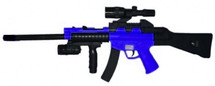 Cyma HY0150C Spring Powered Rifle with long barrel in Blue/Black