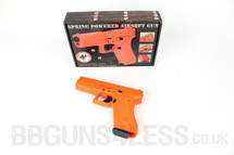 TRIMEX TX-117 BB Gun pistol hand gun in orange