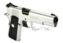 Army Armament R29 M1911 Replica GBB Full Metal Silver