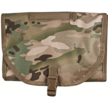 Kombat Wash Bag with hanging hook in Multi Cam