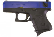 WE EU26 BlowBack Pistol in Blue