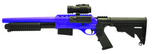 Double Eagle M47D2 UTG Tactical Shotgun in Blue