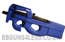 Well D90f AEG Fully Automatic BBgun in blue
