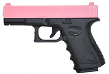 Galaxy G15H Full Metal Pistol in Pink