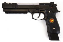 WE Biohazard M92 Gen2 Barry Burton Pistol in Black