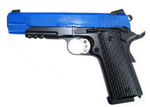 Army Armament R28 Kimber Warrior GBB Full Metal in Blue