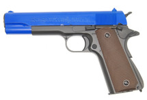 Army Armament R31C M1911 Replica GBB Full Metal Blue