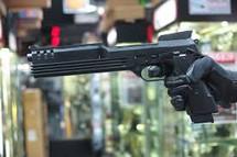 KSC M93R Auto 9-C Robocop GBB Pistol in Black