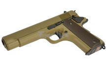 Cyma CM123 Electric Airsoft Pistol AEP in Tan