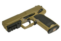 Cyma CM125 Electric Airsoft Pistol AEP in Tan
