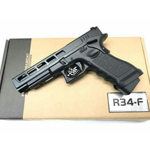 Army Armament R34-F Custom CNC Aluminum Slide in Black