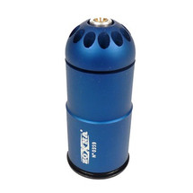 Zoxna 40mm Gas Grenade 120 Round Full Metal in Blue