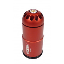 Zoxna 40mm Gas Grenade 120 Round Full Metal in Red