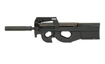 Cyma CM060B P90 AEG with silencer in Black