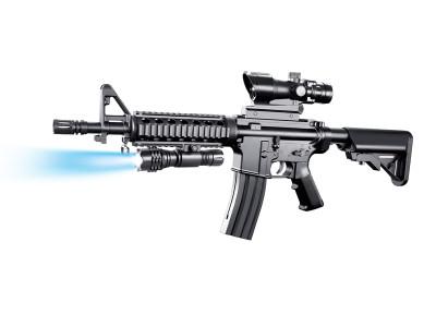 vigor 8907a m4 style Spring Rifle in balck