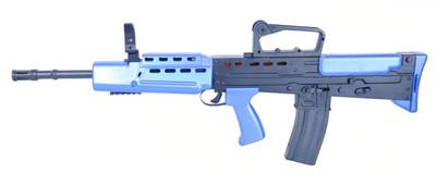 vigor L85A1 SA80 type spring rifle in blue