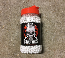 white Bad Ass BB 0.20g BB Pellets (6mm)