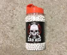 White Bad Ass BB 2000 X 0.30G (6mm) pellets