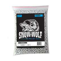 Snow Wolf BB pellets 4000 x 0.20g in bag