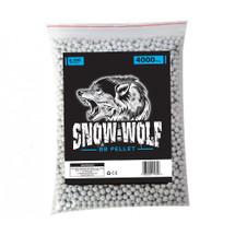 snow wolf bb pellets 4000 x 0.20g (6mm) in bag