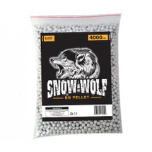 Snow Wolf BB pellets 4000 x 0.25g in bag