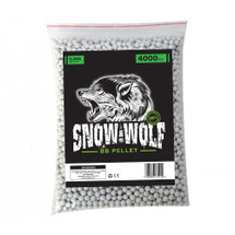Snow Wolf Biodegradable BB pellets 4000 x 0.20g in bag