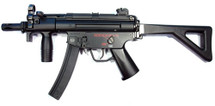 Galaxy G5 MP5 PDW Airsoft Gun with folding stock in Black