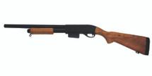 A&K 9870A M870 Full Metal Training Shotgun Real Wood Finish
