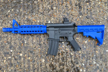 Golden Hawk 2206 M4 Spring Rifle in blue
